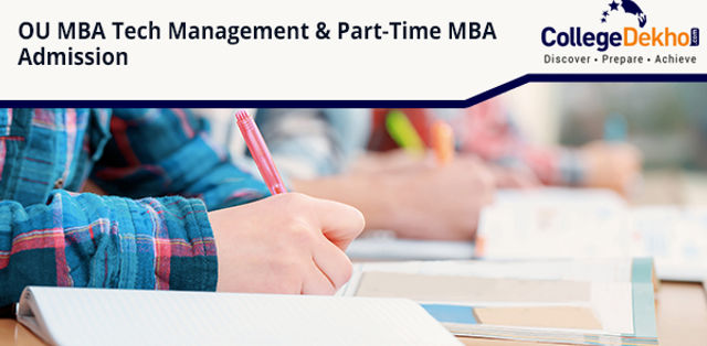 Osmania University MBA Tech Management and Part-Time MBA Admission 2019