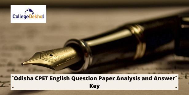 Odisha CPET English paper analysis and answer key