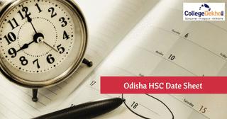 BSE Odisha HSC (Class 10) Date Sheet 2020 Released