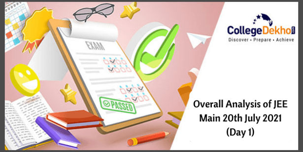 Overall Analysis of JEE Main 20th July 2021 (Day 1)