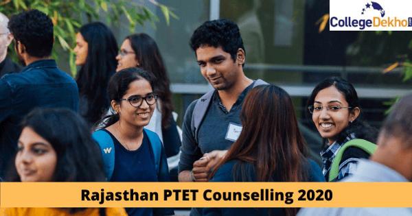 Rajasthan PTET Counselling 2020