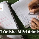 SCERT Odisha M.Ed admission process 2021