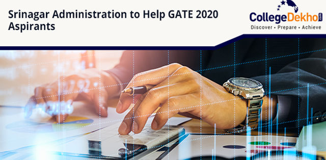 Srinagar Administration Helps GATE 2020 Aspirants with Registration