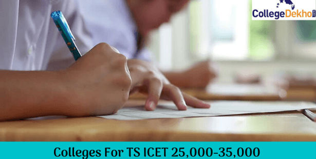 TS ICET Colleges For 25,000-35,000 Rank