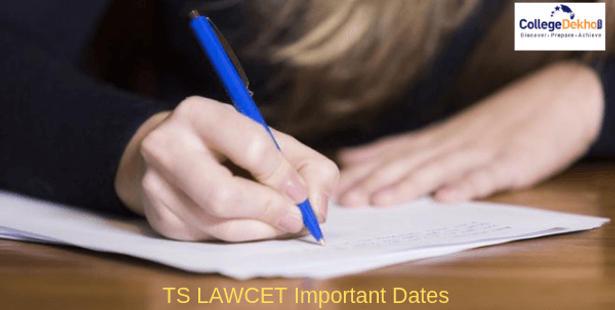 TS LAWCET Important Dates