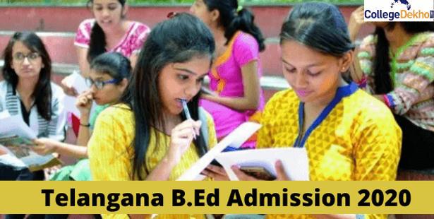 Telangana B.Ed admission 2021