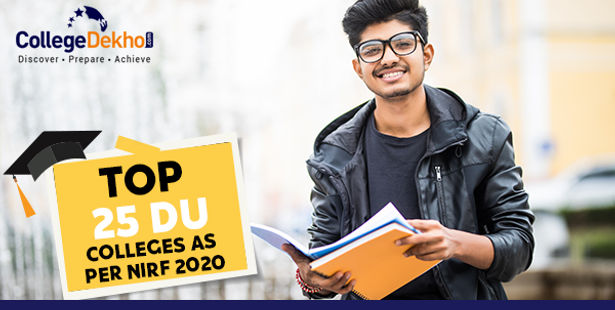 NIRF Ranking for Top 25 DU Colleges