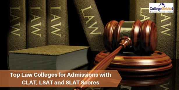 Top 20 Law Universities in India Accepting CLAT, LSAT, SLAT Scores