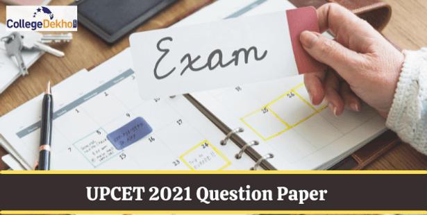 UPCET 2021 Question Paper PDF
