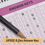 UPSEE B.Des Answer Key