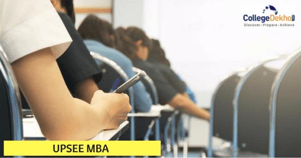 UPSEE MBA Exam 2020