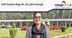 UoH MCA Student Bags Rs. 43 Lakh Package