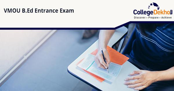 VMOU B.Ed entrance exam 2020