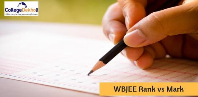 WBJEE Marks vs Ranks 2019