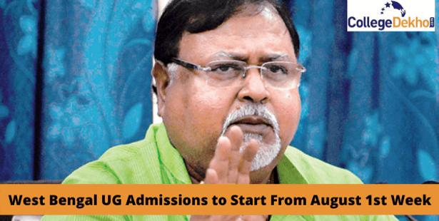 West Bengal UG admission 2021