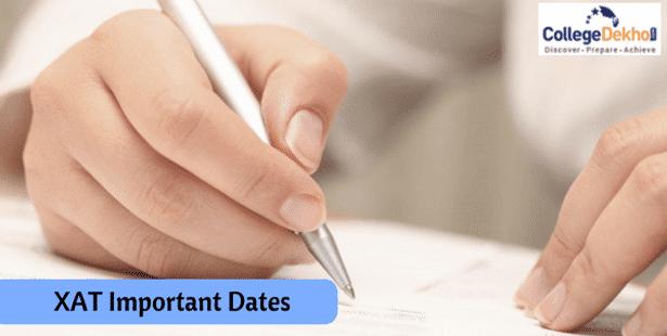 XAT Important Dates