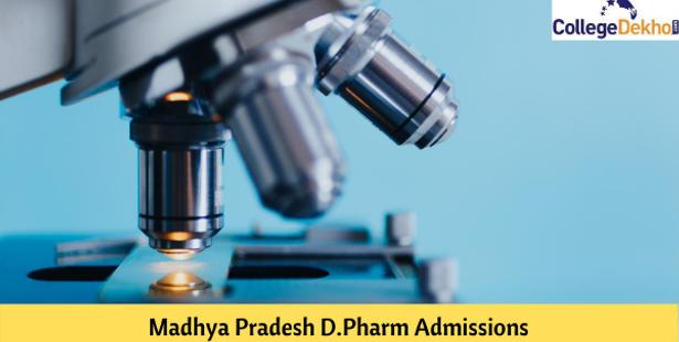 Madhya Pradesh D.Pharm Admission