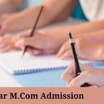 Bihar M.Com Admissions 2021