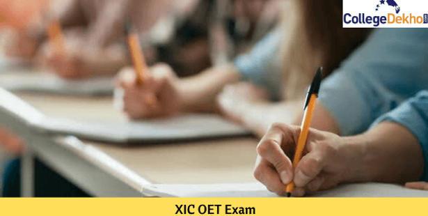 XIC OET Exam 2021