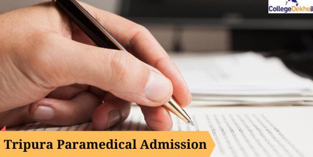 Tripura Paramedical Admission 2022