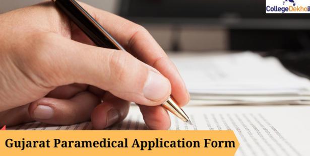 Gujarat Paramedical Application Form