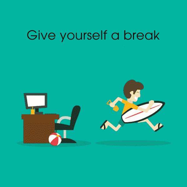 Breaks are really necessary