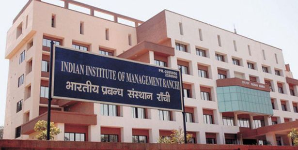 Admission Notice- IIM Ranchi Announces Admissions for Fellow Programme in Management Course, 2016