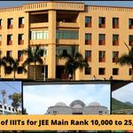 List of IIITs for JEE Main Rank 10,000 to 25,000