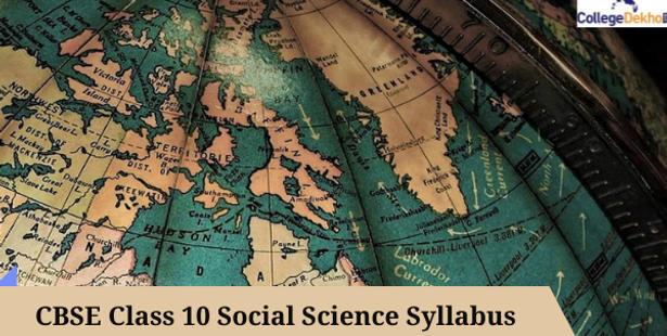 CBSE Class 10th Social Science Syllabus