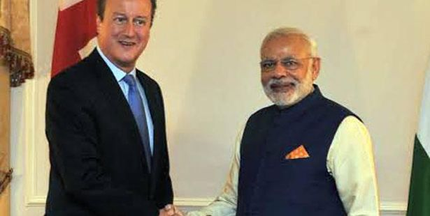 Modi raises student visa issue with British President
