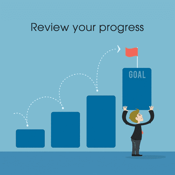 Don't forget to review your hard work