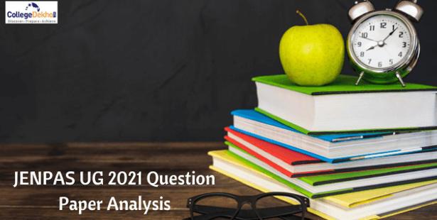 JENPAS UG 2021 Question Paper Analysis