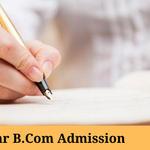 Bihar B.Com Admission 2021