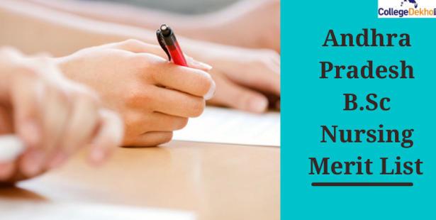 Andhra Pradesh B.Sc Nursing Merit List 2021