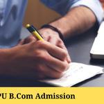 IPU B.Com Admission 2021