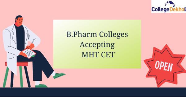 B.Pharm Colleges Accepting MHT CET 25,000-50,000 Ranks