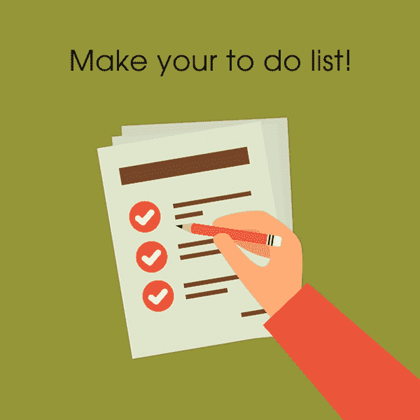 To-do list is your BFF