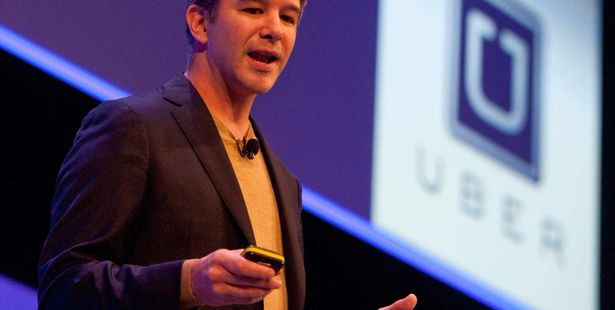 Uber CEO, Travis Kalanick; Part of  Government's 'Start-up India'
