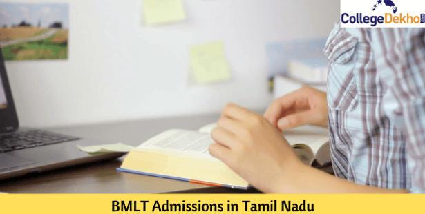 BMLT Admissions in Tamil Nadu
