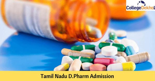 Tamil Nadu D.Pharm Admission